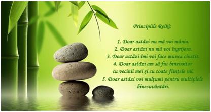 Principiile reiki